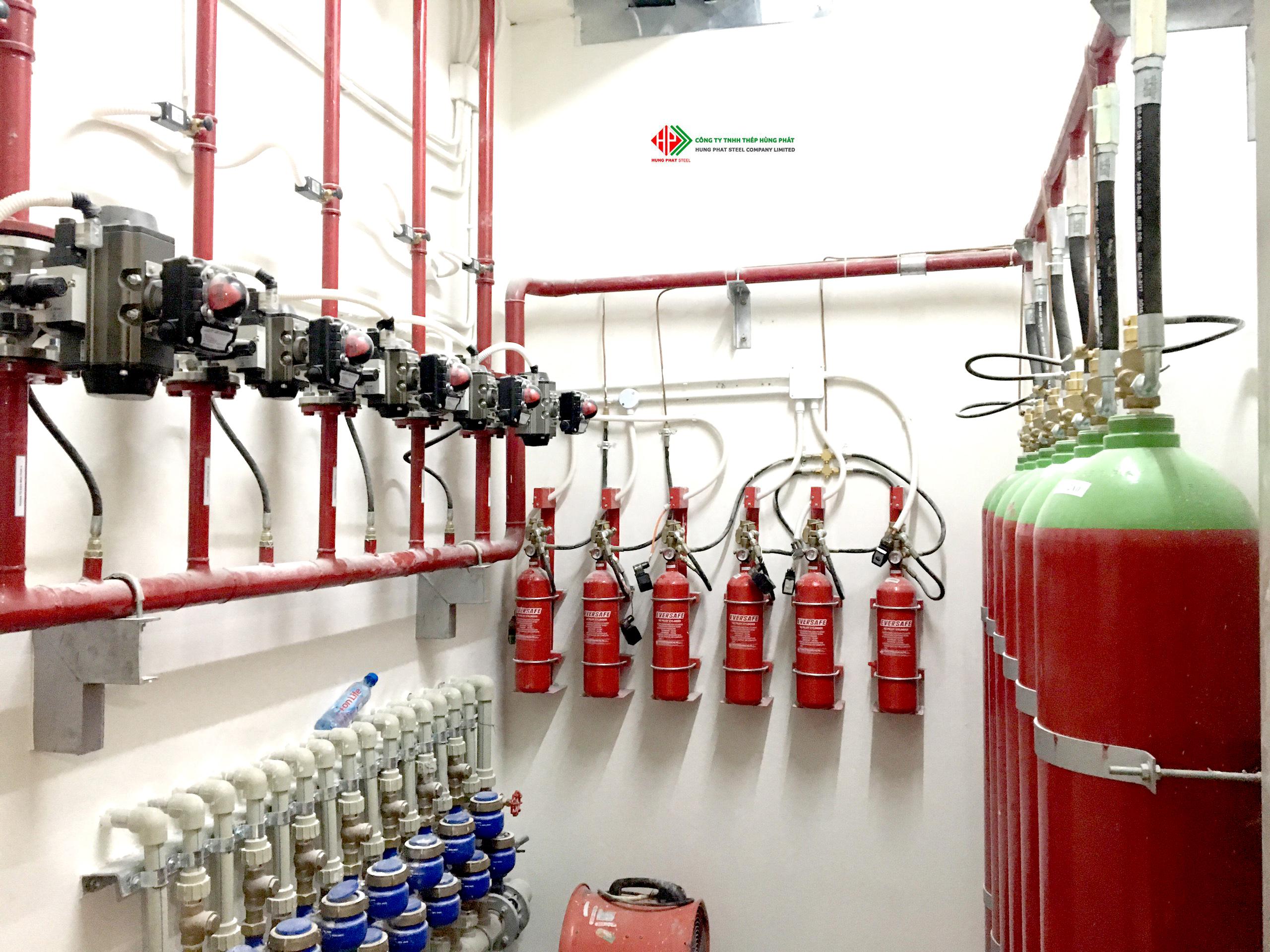 Hệ thống chữa cháy tự động CO2
