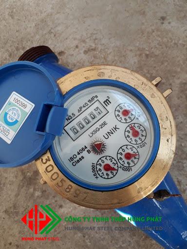 đồng hồ đo lưu lượng nước Unik