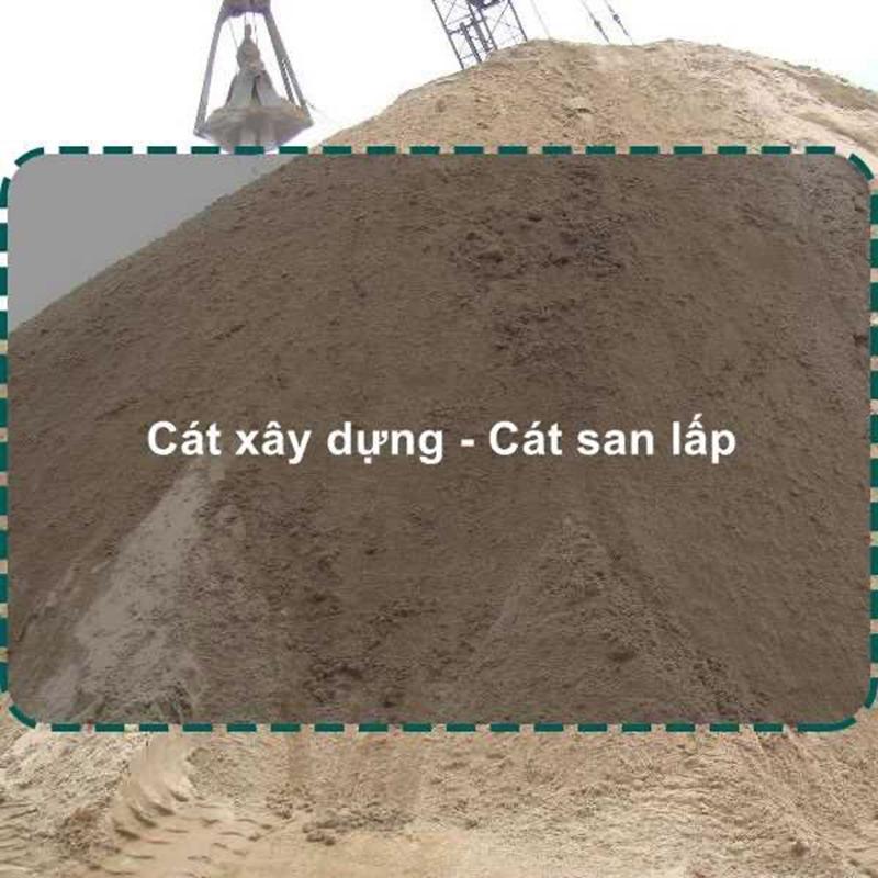 Giá cát san lấp công nghệ hiện đại
