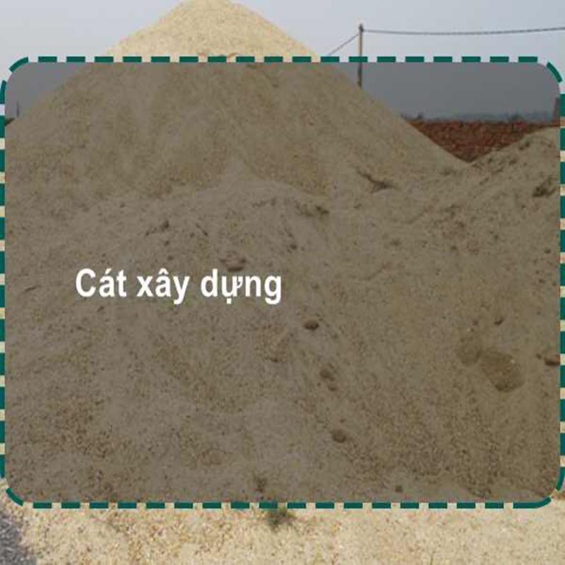 Giá cát xây dựng công nghệ hiện đại