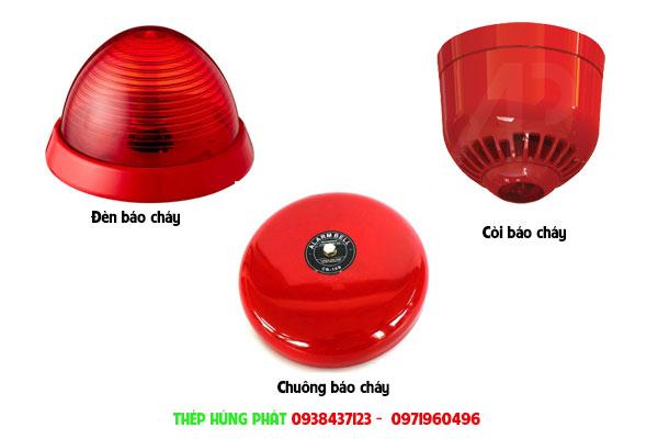 Thành phần của thiết bị báo cháy