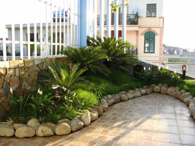 Thiết kế tiểu cảnh sân vườn thẩm mỹ, đẹp, theo phong thủy