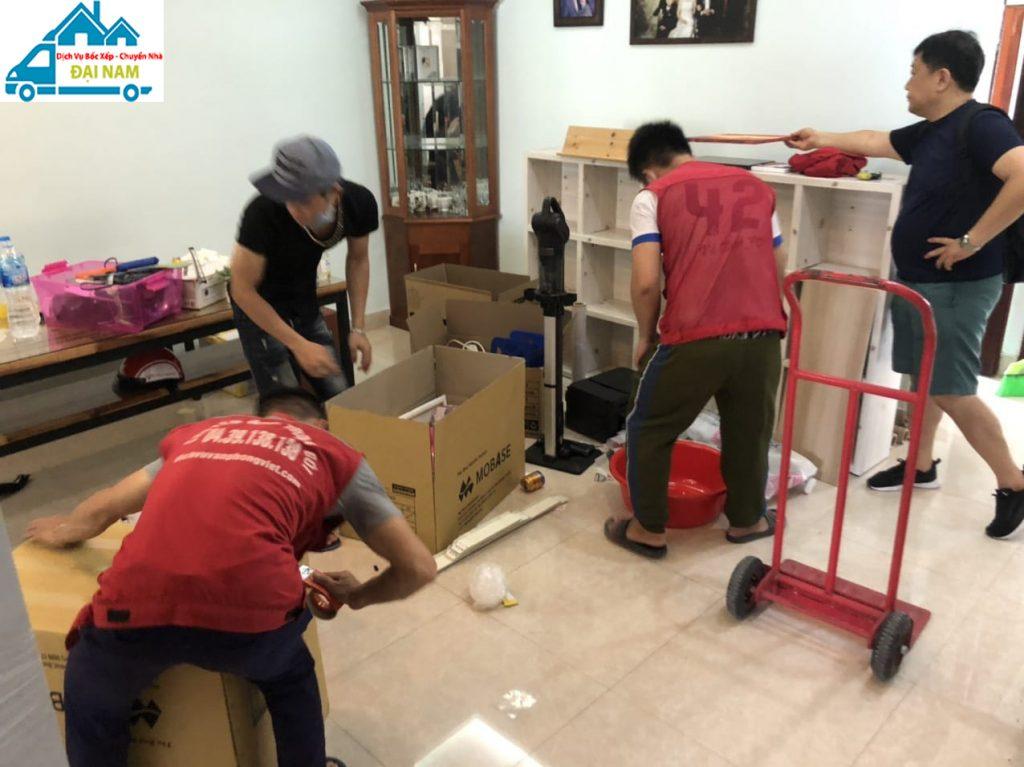 Dịch vụ chuyển nhà quận 2 trọn gói nhanh chóng uy tín