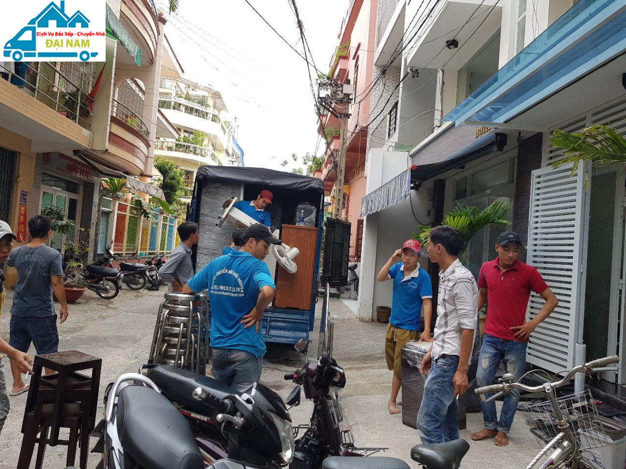 Dịch vụ chuyển nhà quận Tân Bình trọn gói nhanh chóng uy tín