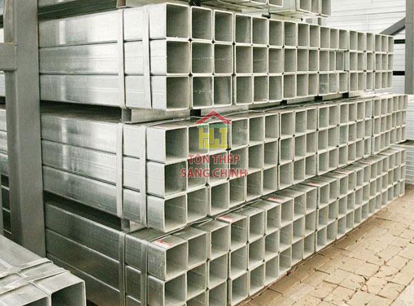 Giá thép hộp mạ kẽm Hoa Sen